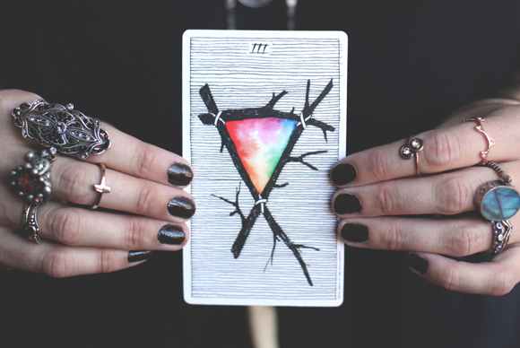 simplicity of tarot cover